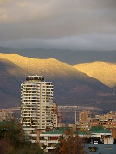 Santiago, Chile - my new city!!! So beautiful I can't wait to see it in person