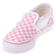 b6a2ae36a Vans VN-0LYGCK1 Youth Classic Slip On Aurora Pink/True White Checker Shoe @