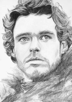 Robb Stark (Richard Madden), Game of Thrones (by Belle Pickering)