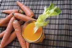eroon turvotuksesta porkkanamehun avulla