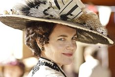 When I imagine Bess Lazarus, I think about Lady Cora's voice and direct American manner. To a lesser degree her appearance.