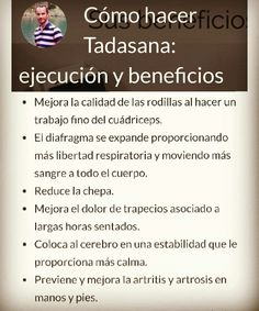 ¿Conoces los bebneficios de esta sencilla postura? https://callateyhazyoga.com/blog/tadasana-beneficios-errores-comunes/ #yogaencasa #yoga #asanas #callateyhazyoga