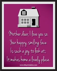 LDS Printables: More Mother's Day Printables!