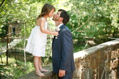 Must have flowers girl and groom!!! Our sweet daughter and daddy! ;)