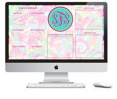 Organizing 101: Computer Desktop Organization Wallpaper   Sweet Face Studio