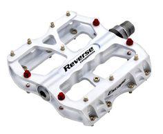 Reverse BMX Pedal Escape Pedals white * Want additional info? Click on the image. (Note:Amazon affiliate link)