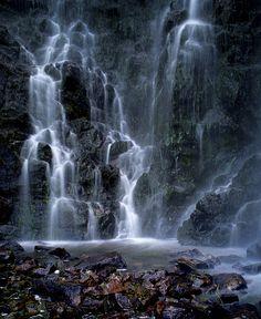 Waterfall in Clashnessie, Sutherland, Scotland