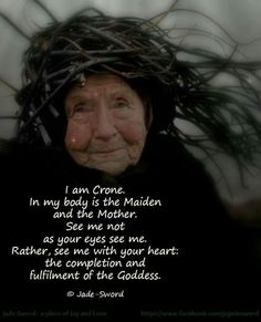 Gracefully Aging Tips offers anti aging ideas, tips and inspiration for women over Live a longer, stronger, healthier and happier life. Sacred Feminine, Divine Feminine, Maiden Mother Crone, E Mc2, Wise Women, Strong Women, Practical Magic, Wiccan, Witchcraft