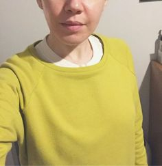 Limey Linden sweatshirt in organic loopback cotton for 2017 pyjama lounging. #sewcialists #lindensweatshirtlindensweatshirt,sewcialistseblknd