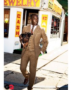 Michael K. Williams. Photographed by Ben Watts.