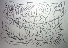 """Brutto rospo II"" 2012 Matita su carta 21x29,5 ©Pietro Gargano"