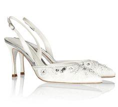 sapato de noiva branco rene caovilla