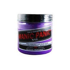 Manic Panic Semi-Permanent Hair Dye - Mystic Heather - Punk.com ($10) ❤ liked on Polyvore featuring beauty products, haircare, hair color, hair dye, fillers, hair, manic panic and makeup