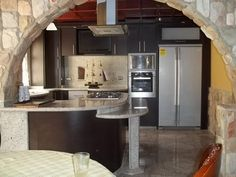 1000 images about cocinas on pinterest madrid custom for Barcitos para comedor