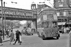 003-Route 625 Bruce Grove, Tottenham 1950's