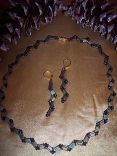 Hey, I found this really awesome Etsy listing at https://www.etsy.com/listing/112624506/zigzag-tila-and-chinese-crystal-necklace