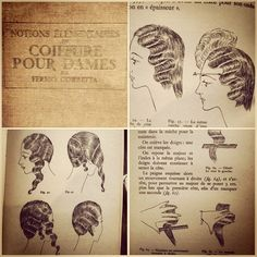 Finger waves, 20's 30's hair, tutorial for long hair