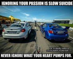 Ignoring your passion is slow suicide.