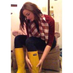 Gearing up for #Spring ! #checkeredprint #oxblood #yellow #RomaBoots