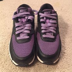 watch b182a a3579 Nike AirMax Sneakers Size 4.5 Purple Nike AirMax never worn Nike Shoes  Sneakers Nike Air Max