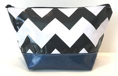 EG-Chevron Black/Blue