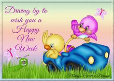 Happy New Week, Happy Monday, Morning Greetings Quotes, Good Morning Quotes, Good Day Wishes, Prayer For My Son, Funny Cartoon Quotes, Blessed Week, Monday Blessings