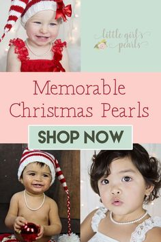 Are you searching for a memorable Christmas gift for your sweet little girl? Little Girl's Pearls creates the most beautiful unique pearl jewelry sized just for girls. Each piece comes with an extension chain to grow with her. Real pearl jewelry becomes a