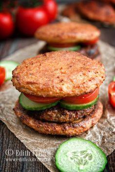 (Chicken) Hamburger (Dukan approved!)
