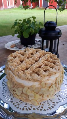 Pastry Cake, No Bake Cake, Apple Pie, Mocha, Vanilla Cake, Nom Nom, Cake Recipes, Tasty, Sweets