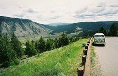 Yellowstone. VW Bus