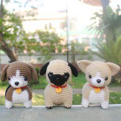 Mesmerizing Crochet an Amigurumi Rabbit Ideas. Lovely Crochet an Amigurumi Rabbit Ideas. Crochet Animal Patterns, Crochet Doll Pattern, Stuffed Animal Patterns, Crochet Patterns Amigurumi, Amigurumi Doll, Crochet Animals, Crochet Dolls, Doll Patterns, Cute Crochet