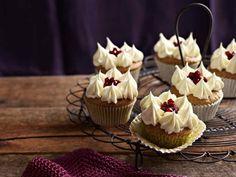 Pistazien-Cupcakes mit Honigbuttercreme
