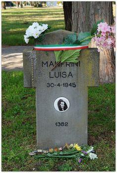 Tomba di Luisa Ferida, Campo X, Campo dell'onore, Cimitero Maggiore di Milano