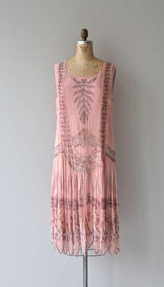 Pink 1920's dress.