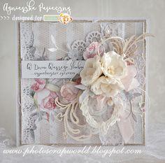 Wedding Cards Handmade, Handmade Birthday Cards, Greeting Cards Handmade, Shabby Chic Canvas Art, Mixed Media Cards, Shabby Chic Cards, Birthday Cards For Women, Collage, Card Tags