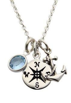 Nautical Anchor Necklace ♥