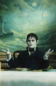 Johnny Depp stars as Barnabas Collins in the latest film to pair him with director Tim Burton. The film features Depp as the iconic. Sweeney Todd, Johnny Depp Dark Shadows, Dark Shadows Movie, Slytherin, Vampires, Beatles, Tim Burton Characters, Tim Burton Art, Shadow Photos