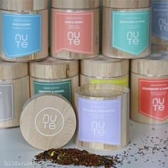 Nute Rooibos & Peppermint, ekologisk te i träask Peppermint, Tea, Coffee, Gifts, Mint, Kaffee, Presents, Cup Of Coffee, Favors