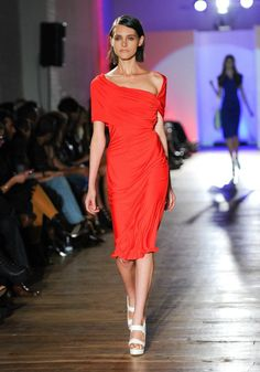 Greta Constantine SS 2012 One Shoulder, Shoulder Dress, Style Inspiration, Dreams, My Style, Closet, Fashion, Moda, Armoire
