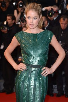Doutzen Kroes dazzles the red carpet at the Cannes 65th Annual Film Festival // L'Oréal Paris