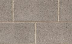 Profile Series Block in Eclipse Quartz by Brampton Brick. The compressive strength of Profile Series concrete block units is suitable for use in a masonry-bearing or single wall. This product is also manufactured with a water repellent additive and is permeable to water vapor. Smooth Face, Concrete Blocks, Brick, Quartz, Profile, The Unit, Water, User Profile
