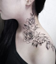 50 Cute Neck Tattoo Designs To Ink With