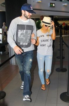 Christina Aguilera - Christina Aguilera & Matthew Rutler Departing On A Flight At LAX