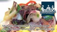 Michelin Starred Chef Angela Hartnett Creates A Fresh Pasta And Seafood Recipe -- Watch Staff Canteen create this delicious recipe at http://myrecipepicks.com/28312/StaffCanteen/michelin-starred-chef-angela-hartnett-creates-a-fresh-pasta-and-seafood-recipe/