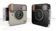 The Instagram Socialmatic Instant Camera
