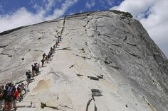Hike Half Dome, Yosemite National Park, California - TripBucket