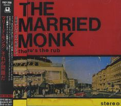 The Married Monk There's The Rub JAP CD ALBUM POCP-Rosebud, 1993