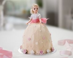 Rachel Allen's princess cake recipe is a step by step guide to making this classic birthday cake for little girls
