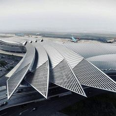 Winged airport design via dazzling archi nextarch next top architects via…