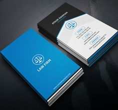 Simple Professional Attorney Lawyer Law Firm Business Card - Lawyer business card templates